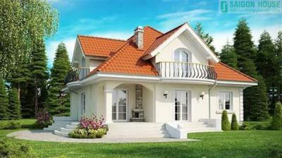 21 mẫu nhà cấp 4 kiểu biệt thự đẹp, nổi tiếng