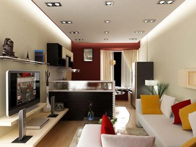 Không gian phòng khách trong thiết kế nhà