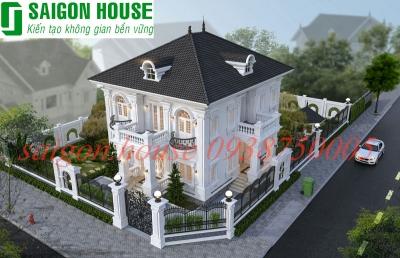 Thiết kế thi công biệt thự cổ điển
