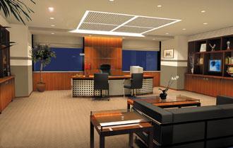 Thiết kế nội thất văn phòng sang trọng