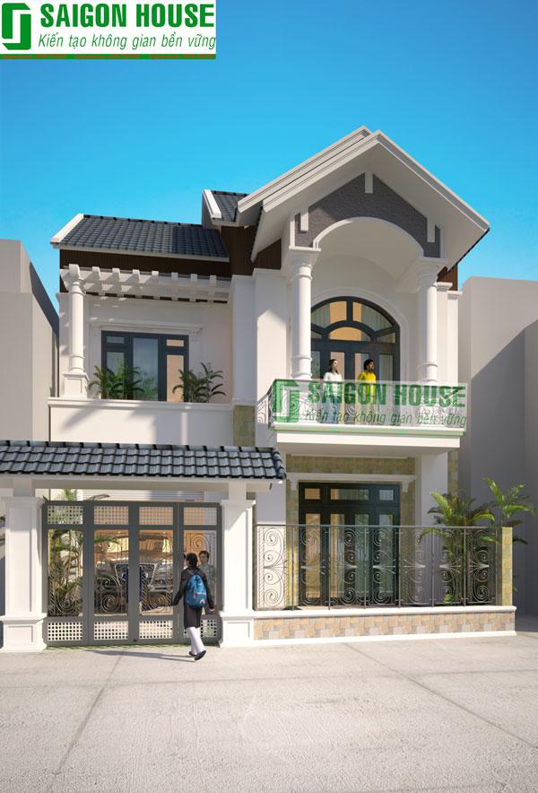 Thiết kế & thi công trọn gói nhà Anh Bình, Dĩ An, Bình Dương