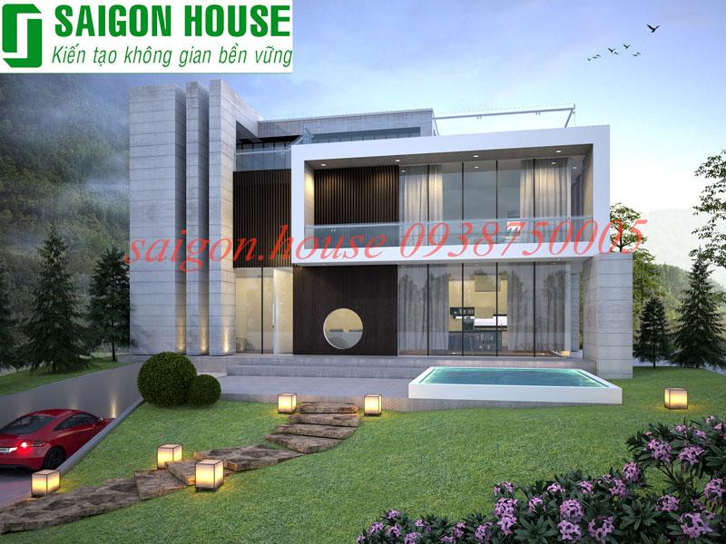 Thiết kế & thi công biệt thự hiện đại