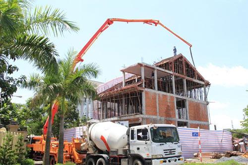 Dịch vụ xây thô giá rẻ công trình xây dựng